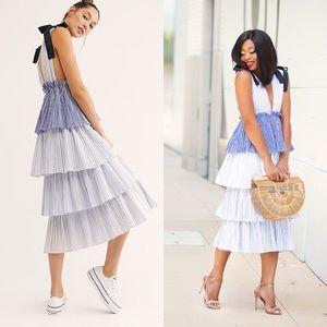Style Mafia x Free People Keza Tiered Maxi Dress
